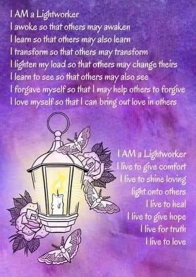 I am lightworker x 💕💕