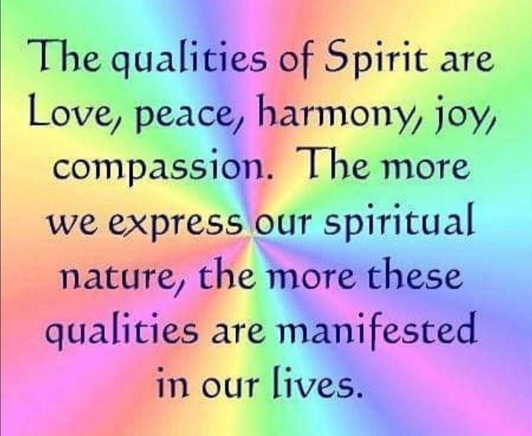 Love of spirit